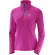 Salomon Trail Runner Warm Mid Shirt Women rose violet